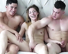 Teen Watches His Role Model FUCK Then Joins In The A Threesome