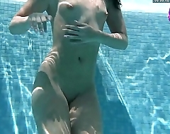 Hot Russian Jessica Lincoln in the pool