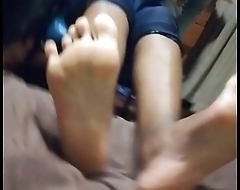 African college girl small feet soles