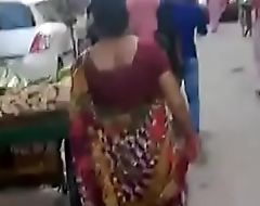 Following my mother on road