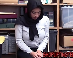 Arabic shoplifter sucks