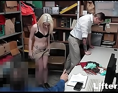 TEEN THIEF FUCKED WHILE DAD WATCHES- LifterX.com