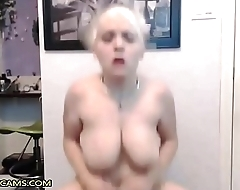 This Blonde Babe Have Some Flying Tits