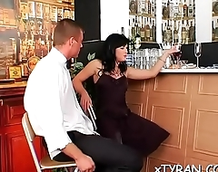 Sexy femdom fetish session whit sub stud getting whip up ass