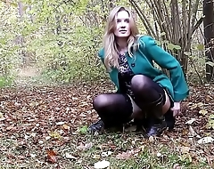 TheLifeErotic - Bree Haze masturbating in the woods