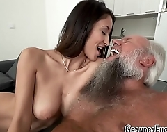 Teen railed by grandpa