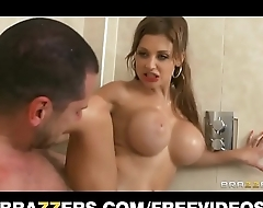 brazzers hot sex doll with a perfect body fucks her