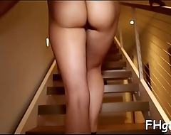 Gorgeous girl fell in love and wanted to get fucked very hard