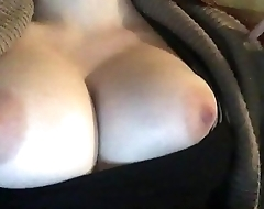 Beautiful big tits...touch and play. TURN SOUND ON I'_M SAYING SOMETHING TO MY FANS AND VIEWERS