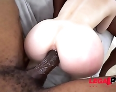 Bad Ass Alex Harper in her American Anal BBC DP