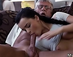 I caught daddy watching and old man What would you choose - computer